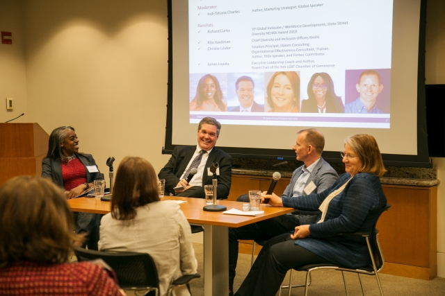 FWBN/HR Forum Diversity & Inclusion Panel on IWD, March 14 2019, at McDermott Will & Emery