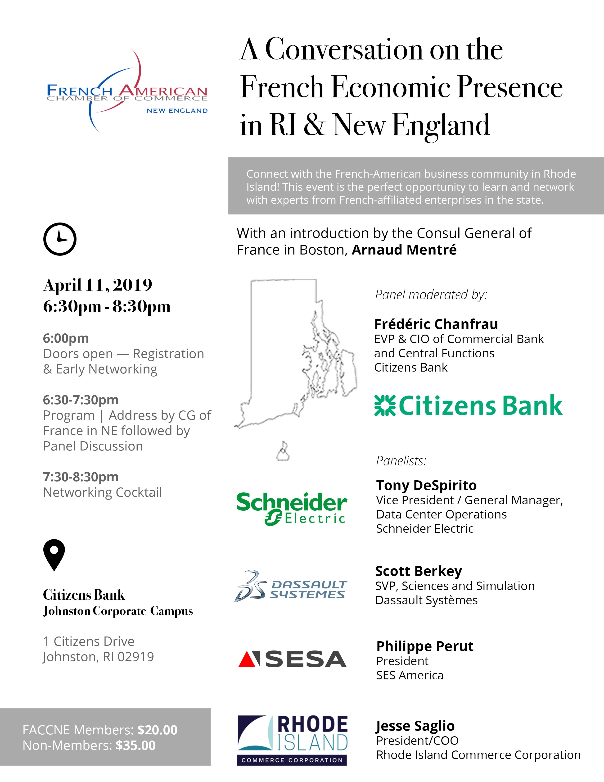 A Conversation on the French Economic Presence in RI & New England