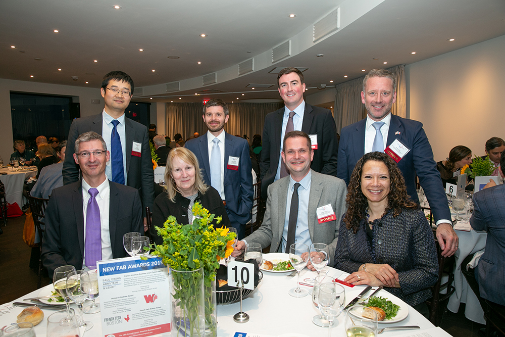 The Natixis Investment Managers table at FACCNE's 18th Annual French-American Business Awards