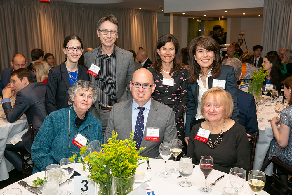 The Saul Ewing Arnstein & Lehr table at FACCNE's 18th Annual French-American Business Awards